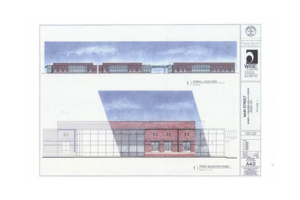Women & Children's Health - Proposed Project/Rendering