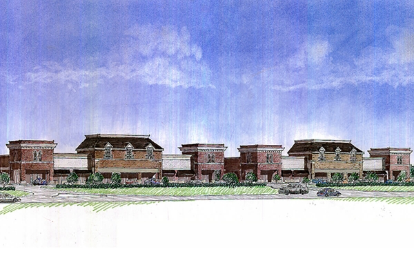 Union Chapel Village Center - Proposed Project/Rendering